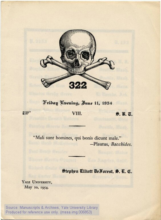 of the bones members from