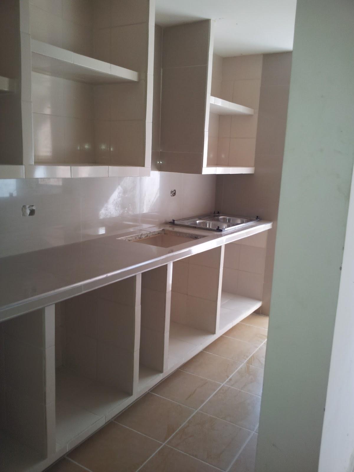 Construcciones y asesor a fly cocinas en remodelaci n for Gabinetes en cemento