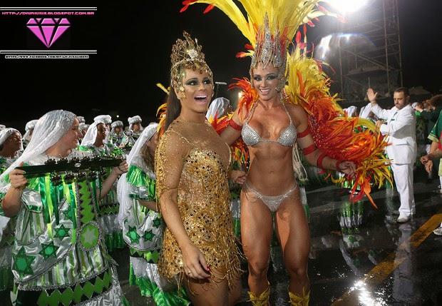 Juju Salimeni e Viviane Araújo