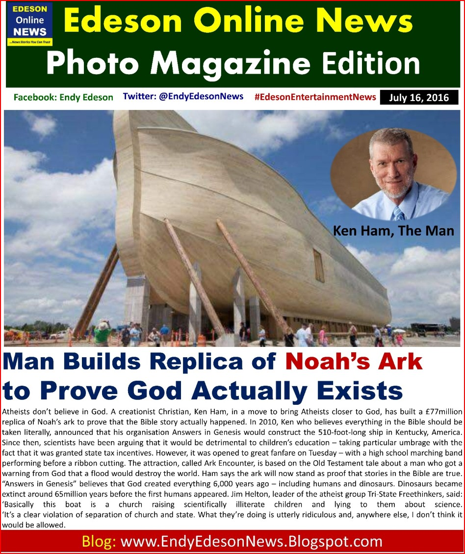 Edeson Online News Religious Weird News Man Builds