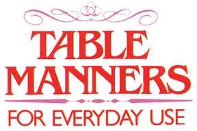 Expat in the city september 2015 for 10 good table manners