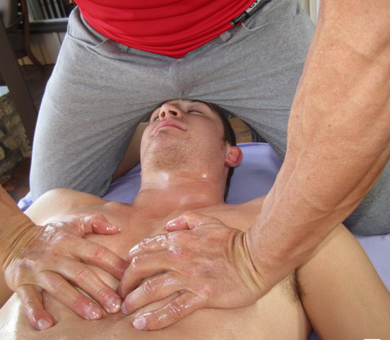 real orgasm gay massage