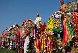 Elephant Festival in Jaipur, Rajasthan