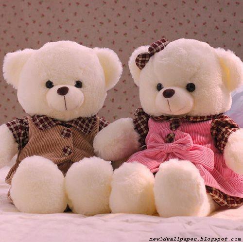 Cute Love Wallpaper: Teddy Bears Wallpapers « NEW 3D WALLPAPER