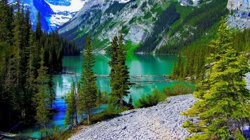 Mountain Lake Wallaper