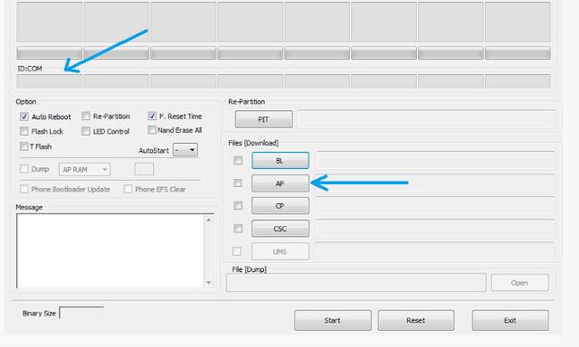 Cara Instal Samsung Firmware Resmi Dengan Menggunakan Odin