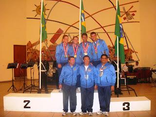 Equipe brasileira de Tiro Esportivo - XXI Festival Sul-Americano de Cadetes