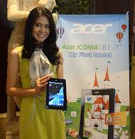 Harga tablet murah Spesifikasi Acer Iconia Tab B1-A71