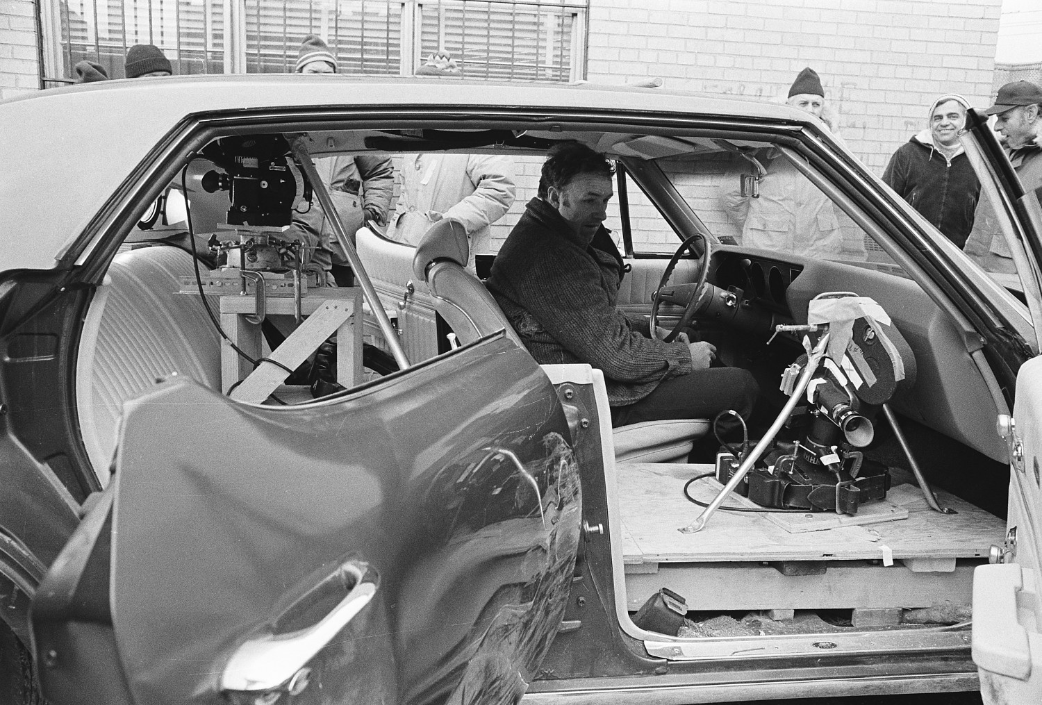 Behind the scenes of old movies special effects vintage for Chaise auto