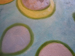 food painting of summer essence for the vegetarian cookbook by Fiona Morgan