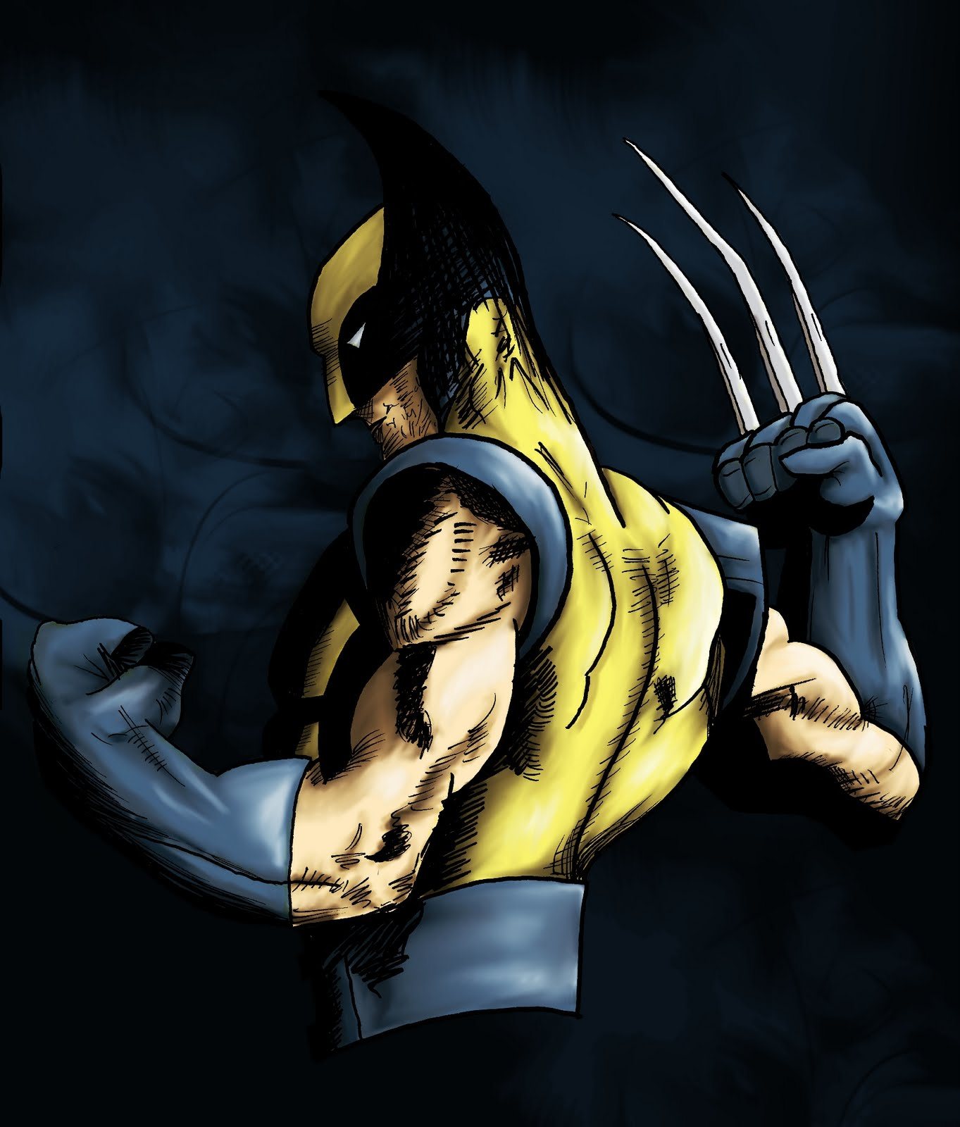 Elenatintil Alas My Brilliant Plan Has Been Foiled Color Your Own Wolverine