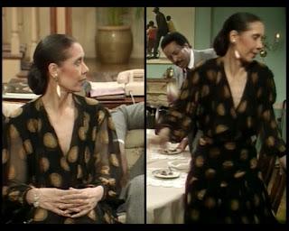 Cosby Show Huxtable fashion blog 80s sitcom Carmen De Lavallade