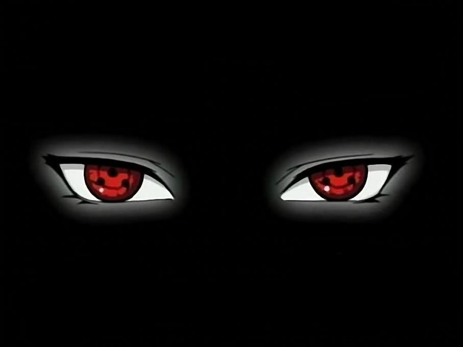 Naruto Shippuden Wallpaper: Complete Sharingan Eye Wallpaper