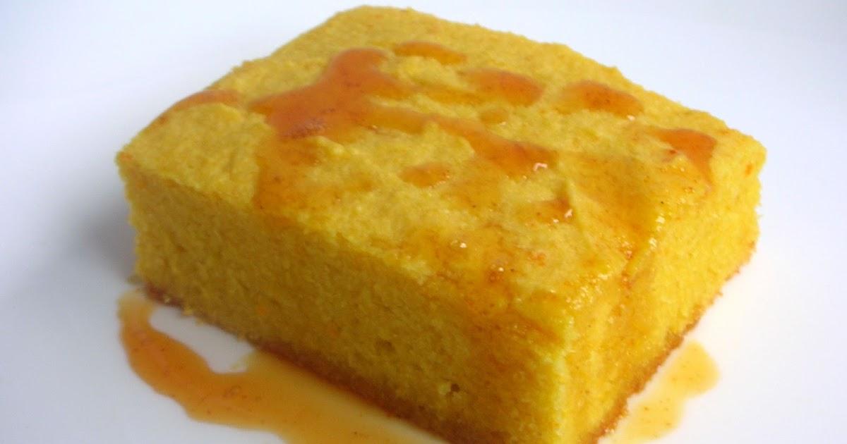 Orange Olive Oil Cake With Vanilla Glaze