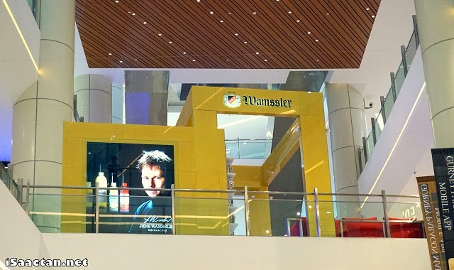 Wamssler Honey Wine Kiosk located on the 2nd floor of Gurney Paragon Mall