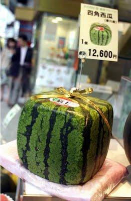 Drôles fruits et légumes