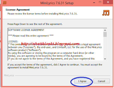 MiniLyrics 7.6.31 full hiển thị lời bài hát trên Windows media player, Itunes, Winamp, VLC