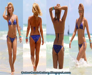 Aliona Vilani bikini, Aliona Vilani beach poses