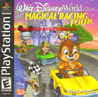 Walt disney world quest magical racing tour characters