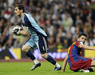 Casillas vs Villa