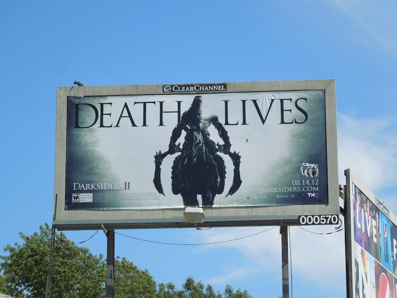 Death Lives Darksiders 2 billboard