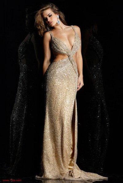glamouröse abendkleider - glamouröse kleider