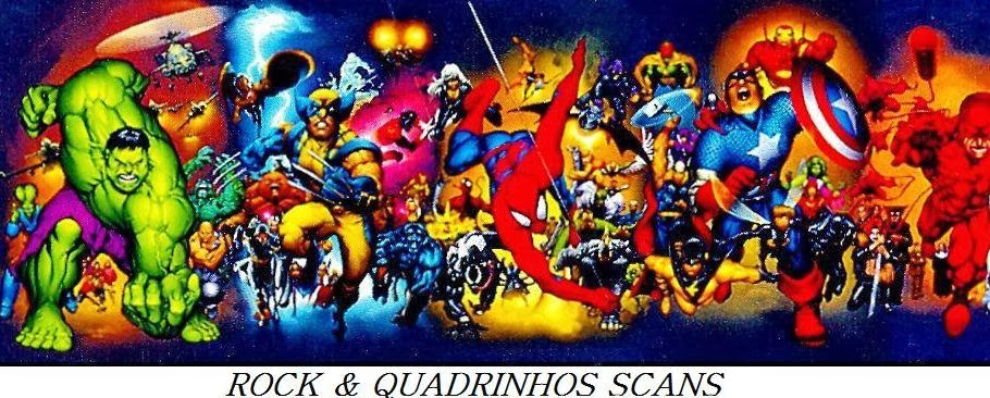 ROCK e QUADRINHOS SCANS