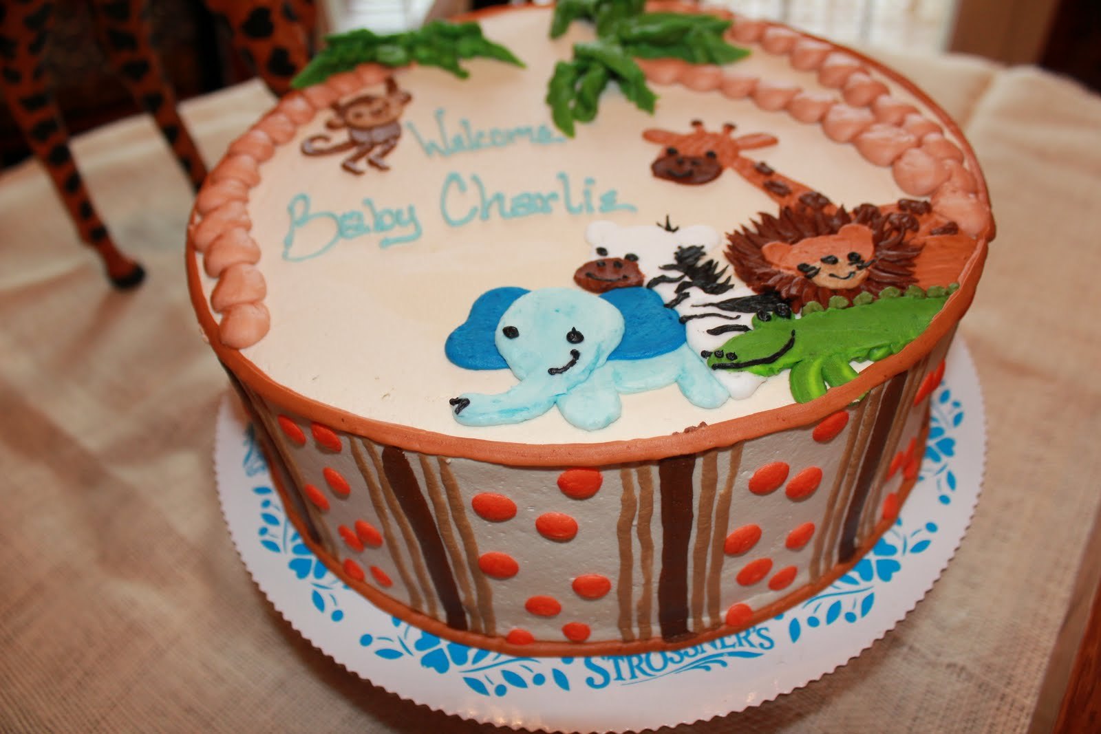 Just Laugh A Baby Shower Inspired By The Jungle