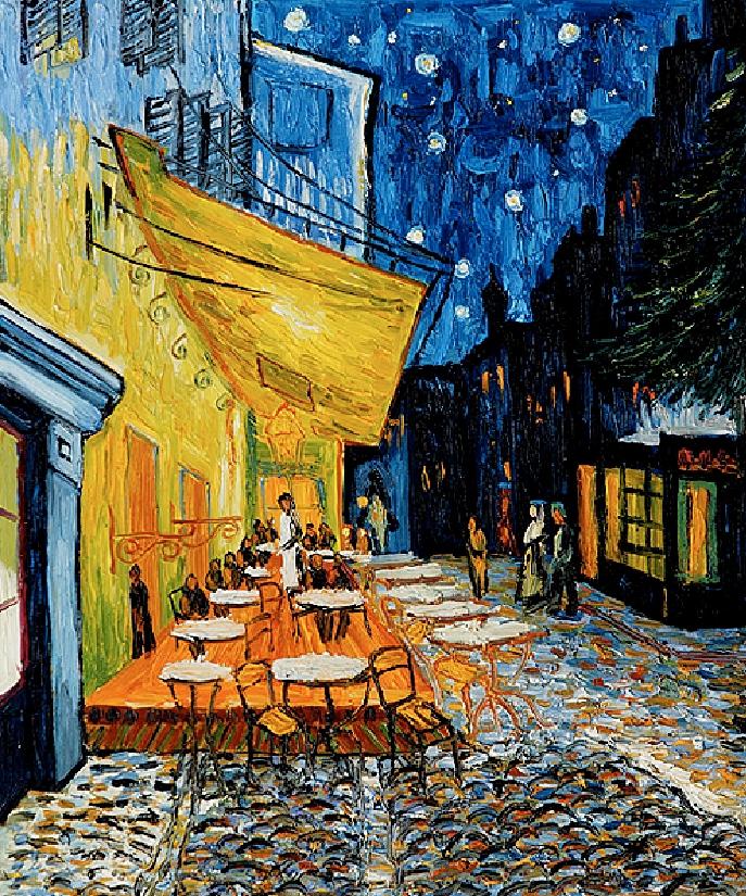 Van Gogh Cafe Terrace at Night Wallpaper Cafe Terrace at Night Van