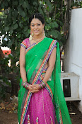 Actress Anjali Rao in Half Saree-thumbnail-19