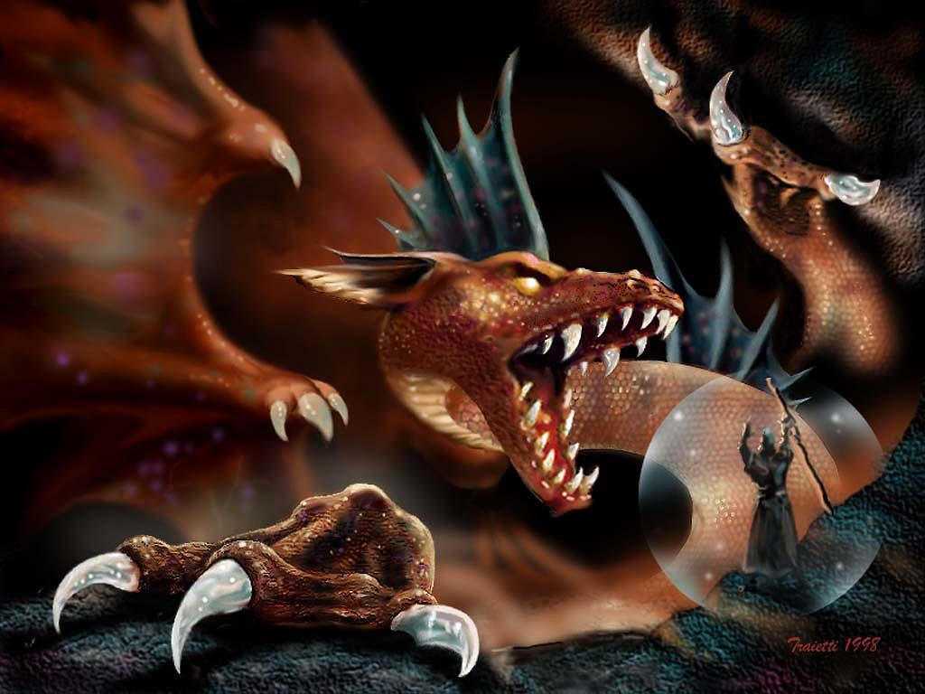 Hd wallpaper dragon - Boris Vallejo Painting Free Hd Wallpaper