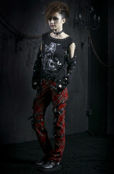 Devilinspired Punk Clothing: Plaided Punk Clothes for Women