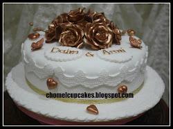 Fondant Hantaran Cake