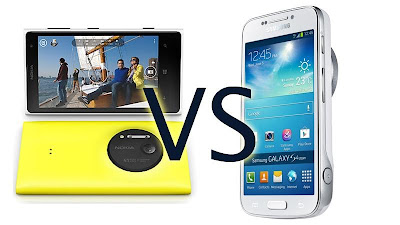 Nokia Lumia 1020 vs Samsung Galaxy S4 zoom, Oppo Find7, BlackBerry Q10, iPhone
