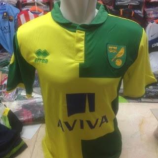 gambar desain terbaru jersey norwich gambar foto photo kamera Jersey Norwich City home terbaru musim 2015/2016 di enkosa sport toko online terpercaya lokasi di jakarta pasar tanah abang
