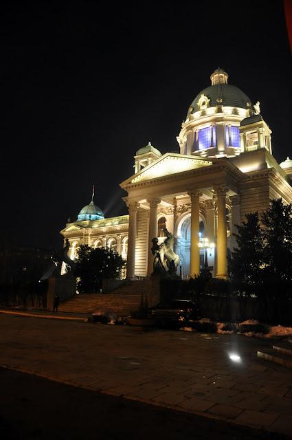 serbische Parlament // Serbia parliament