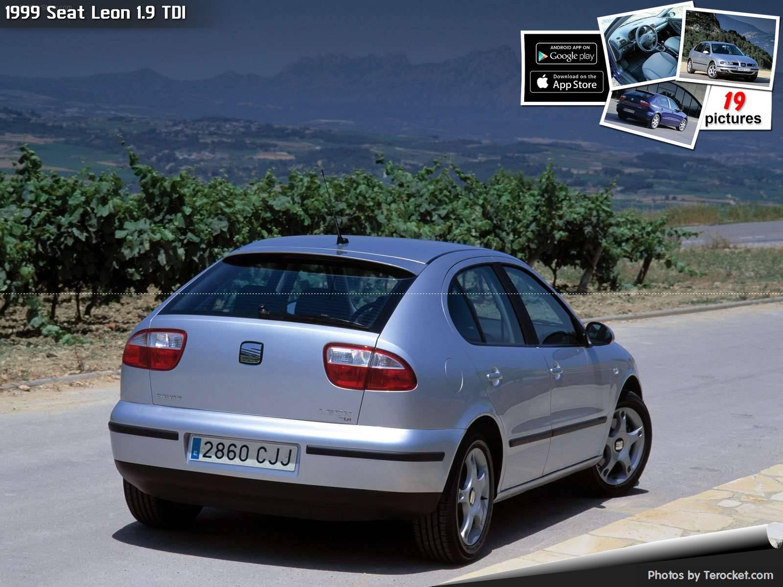 Hình ảnh xe ô tô Seat Leon 1.9 TDI 1999 & nội ngoại thất