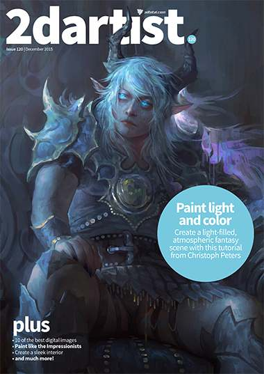 2D Artist Magazine Issue 120 December 2015