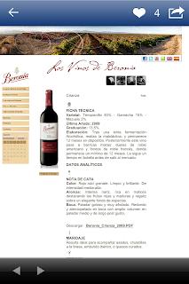 App Vinos Bodegas Beronia