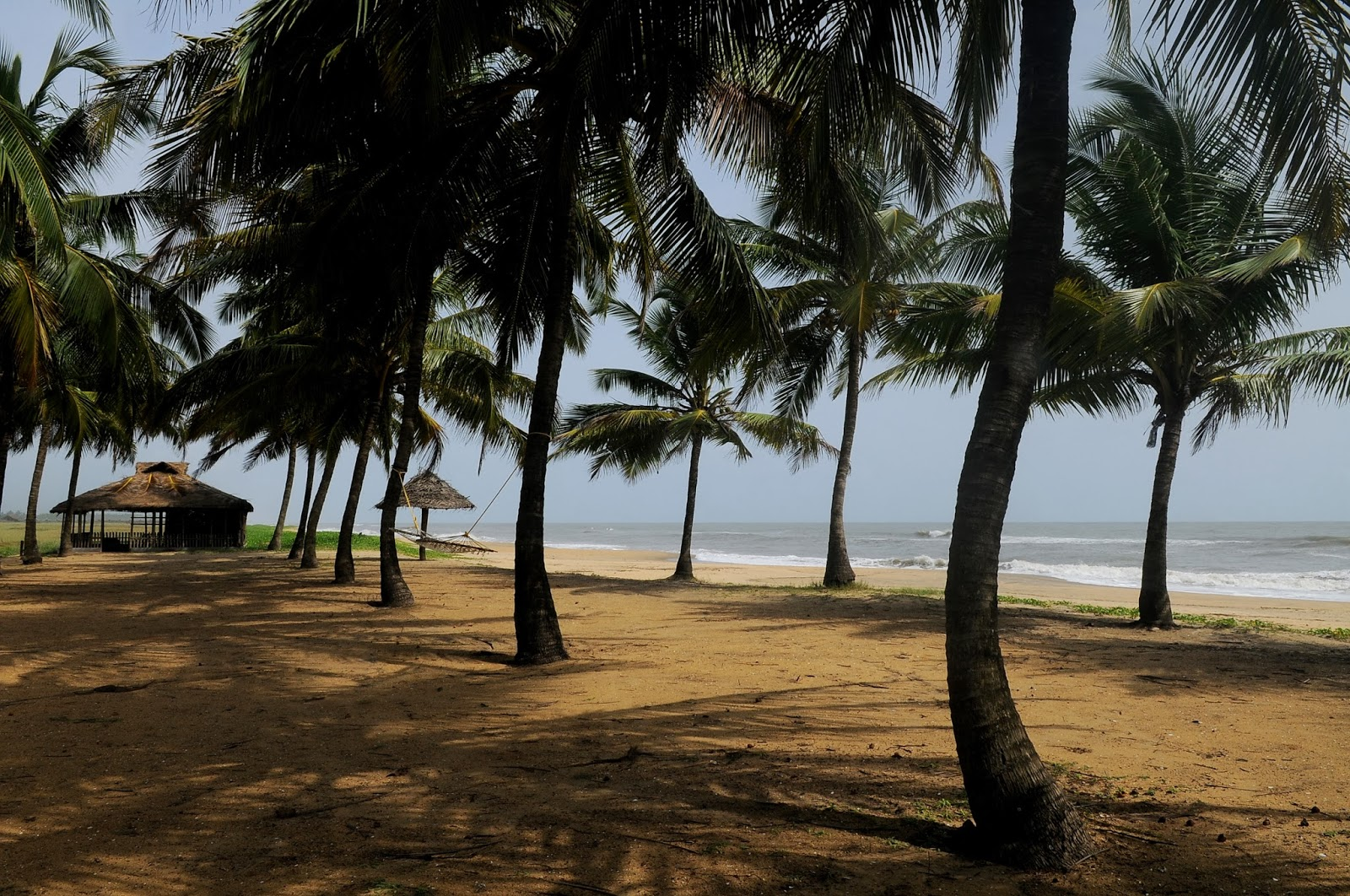 Beach view from the Bekal fort
