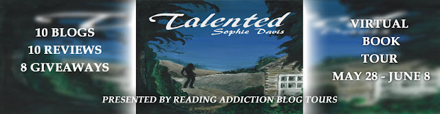 Talented by Sophie Davis blog tour banner