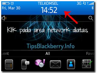 Cara Setting Blackberry Menjadi Hotspot Wifi