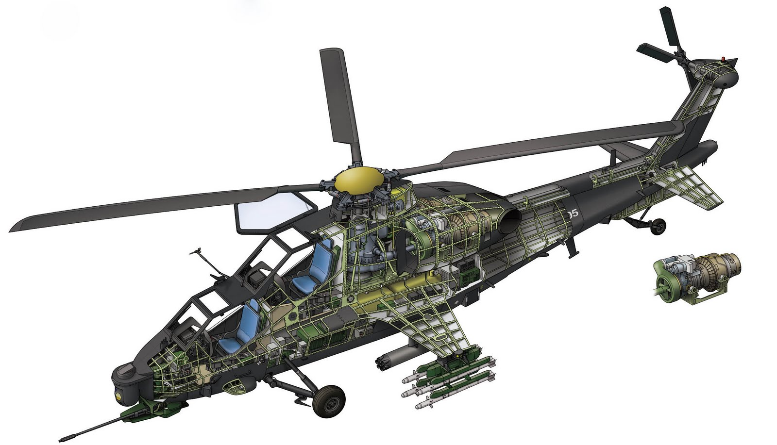 american helicopter gunship - photo #31
