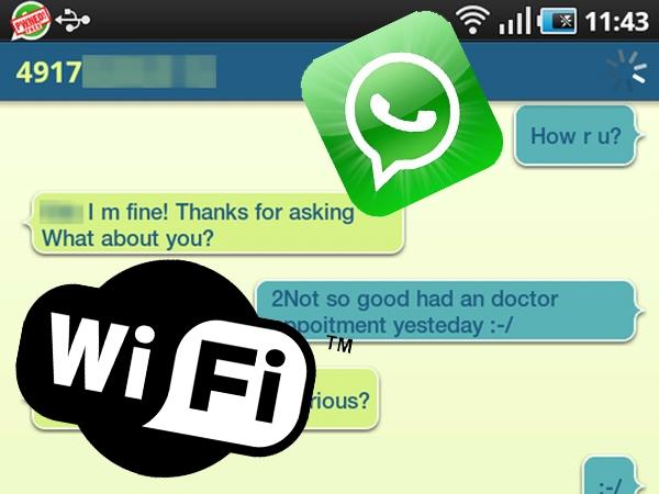 Una aplicación permite espiar los chats de WhatsApp