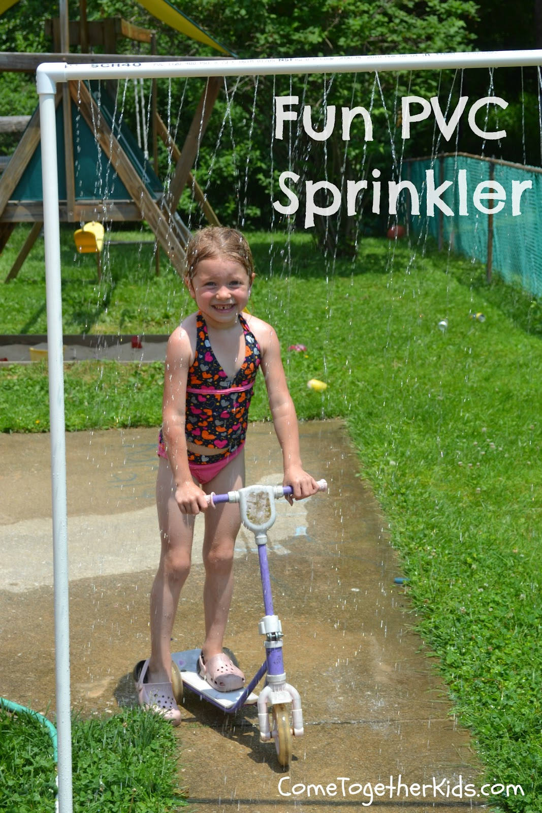 Fun PVC Sprinkler