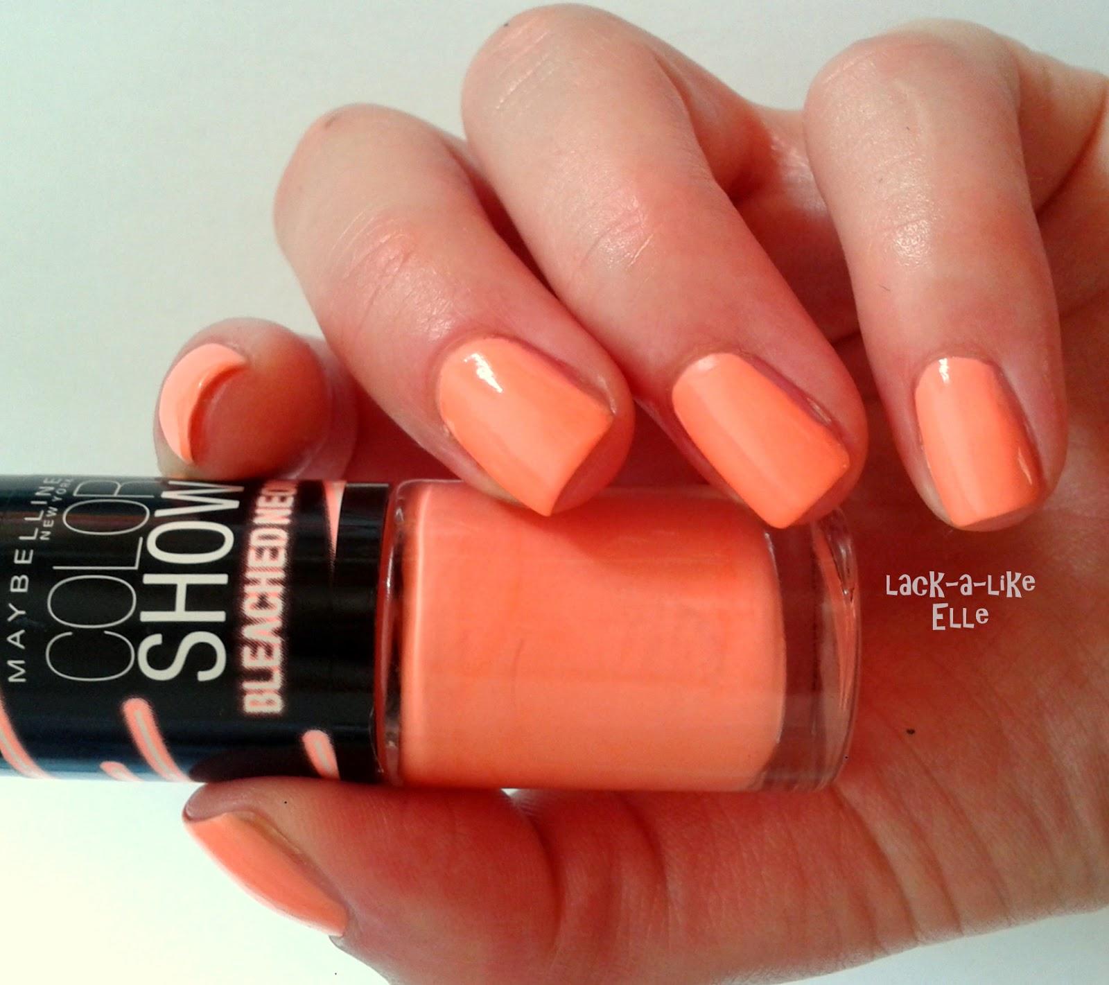 Lack a like: orange für lacke in farbe... und bunt!