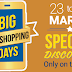 Flipkart Big App Shopping Days Intrigue - 23 March to 25 March, get Free Movie Vouchers