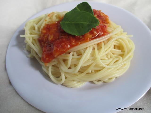 Cara Membuat Saos Spaghetti Sendiri di Rumah