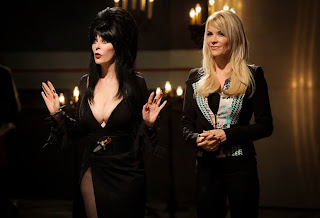 Elvira and McKenzie Westmore on Face Off