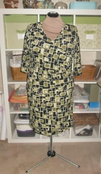 CJ Patterns #426 Princess Wrap - As a 2-Piece Dress